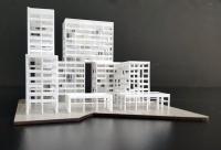 Maquette conceptuelle bureau