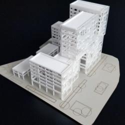 Maquettes d'Immeubles