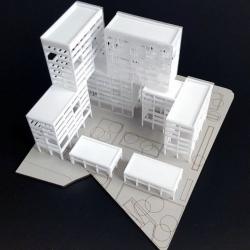 Maquettes d'Immeubles de Bureaux