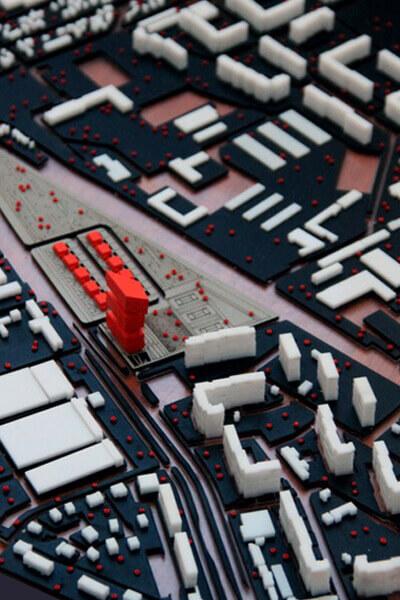 Maquettes d'urbanisme
