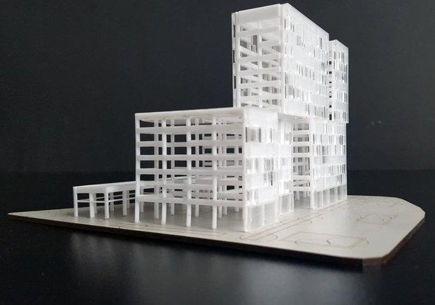 Les maquettes d'architecture