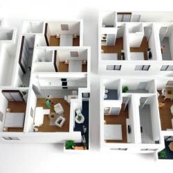 Maquette appartements
