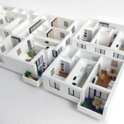 Maquette d'appartement