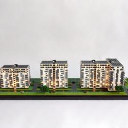 Maquette de promotion immobilière