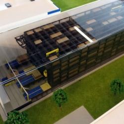 Maquette d'une usine