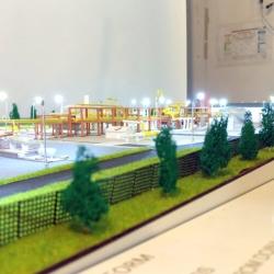 maquette Plateforme de gaz