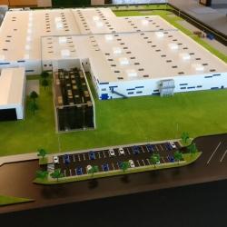maquette d'usine