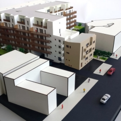 Maquette Résidence pour Promotion immobilière