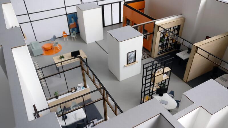 Maquette aménagement intérieur