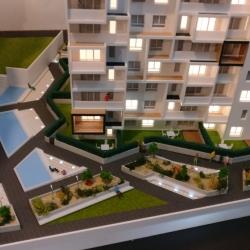 Maquette d'immeuble