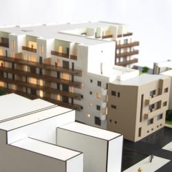 Maquette de bâtiments