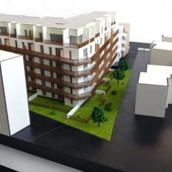 Maquette pour Promotion immobilière