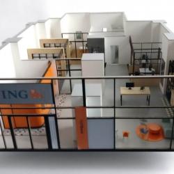 bureau de banque maquette
