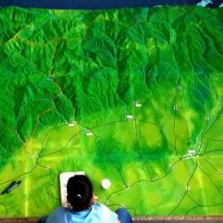 maquette géographiques