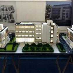 Maquette bâtiments administratifs