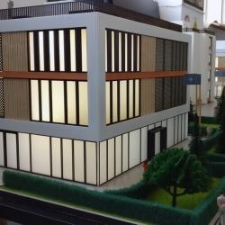 Maquette d'un immeuble