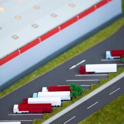 Maquette d'entrepôt