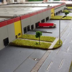 Maquette entrepôt