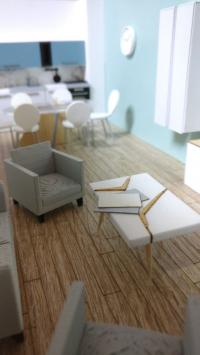 Maquette Virtuelle interieur appartement