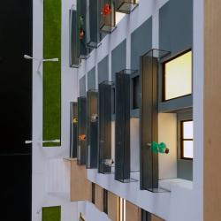 Maquette immeuble