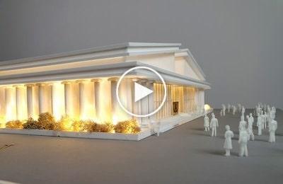 Maquette d'architecture – Salle des événements