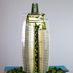 Maquette gratte-ciel