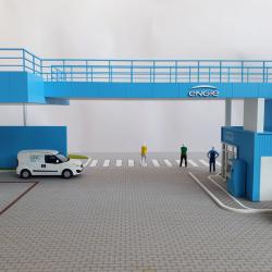 Une maquette industrielle