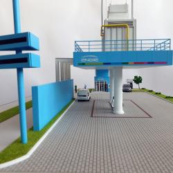 maquette industrielle engie