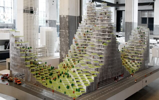 Tours Lego Bjarke Ingels Group