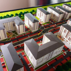Maquette complexe immobilier