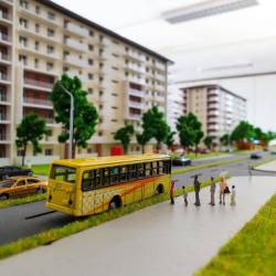Maquette complexe résidentiel