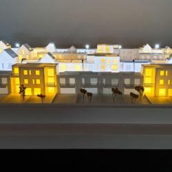 Maquette programme immobilier
